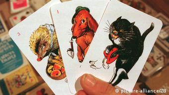 Das Kartenspiel Schwarzer Peter