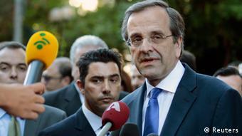 Regierungsbildung in Athen Griechenland