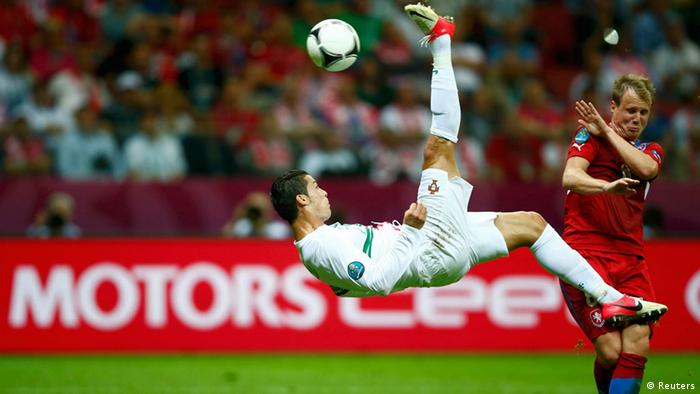 Portugal defeated the Czech Republic on Thursday in the first game of    Cristiano Ronaldo Bicycle Kick Wallpaper