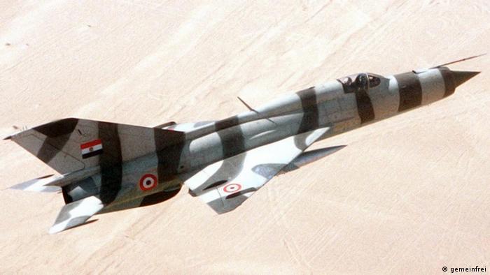 MiG-21PFM Ägypten Kampfflugzeug (gemeinfrei)