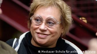 Vor 20 Jahren gründete Elena Nemirovskaja die Moskauer Schule für politischen Studien (Foto: DW)