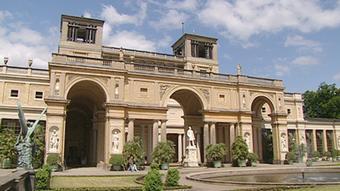 Glienicke Palace, a Mediterranean-style villa in Potsdam