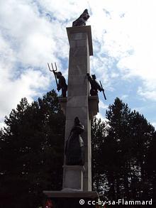 Antifaschistisches Denkmal in Srb Kroatien