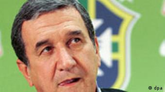 Fußball: Brasiliens Trainer Carlos Alberto Parreira