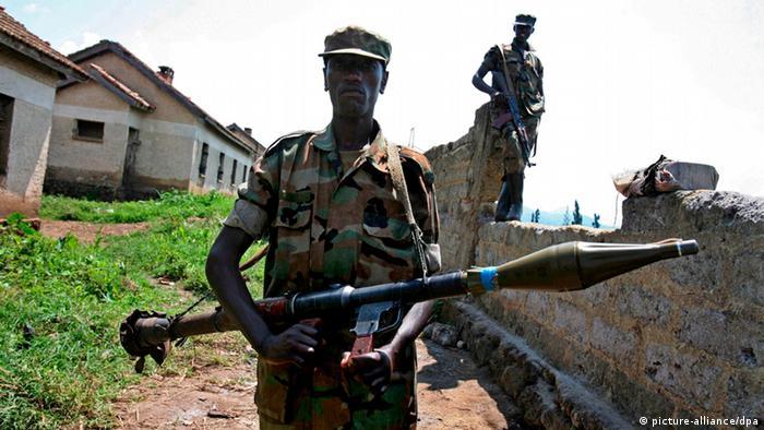 Rebels in Rutshuru, North -Kivu, iPA/LUCAS DOLEGA +++(c) dpa - Bildfunk+++
