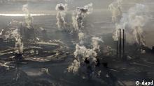 umwelt rauchende schlote treibhausgase klima