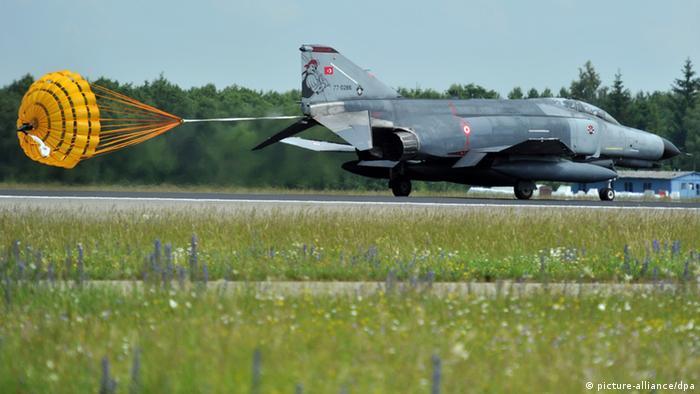 A turkish Phantom 4 landing