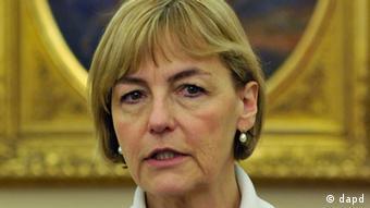 Croatia's foreign minister Vesna Pusic (Foto:Bela Szandelszky/AP/dapd)