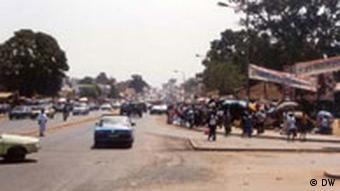 Atmosphäre in Guiné Bissau