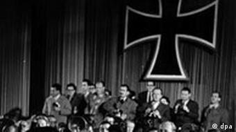 60 Jahre Bundeswehr Vereidigung der ersten Soldaten der neuen Bundeswehr