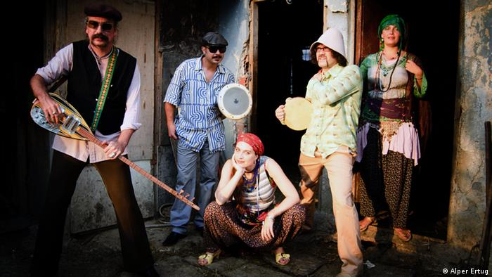 A press shot of the band Baba Zula (c) Alper Ertug