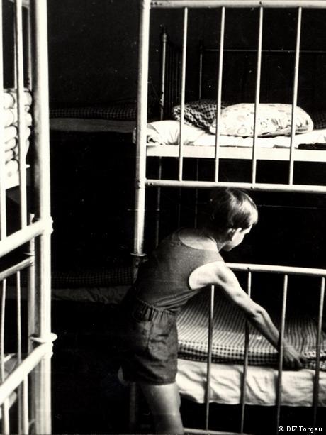 Schlafraum eines DDR-Kinderheimes