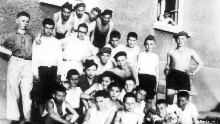 Dzieci i młodzież z KL Buchenwald
