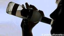 UN-Drogenbericht, Weltdrogentag Symbolbild Alkoholismus