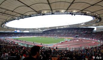 Unutrašnjost stadiona u Stuttgartu