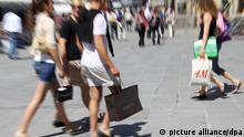Konsumklima in Deutschland verbessert sich