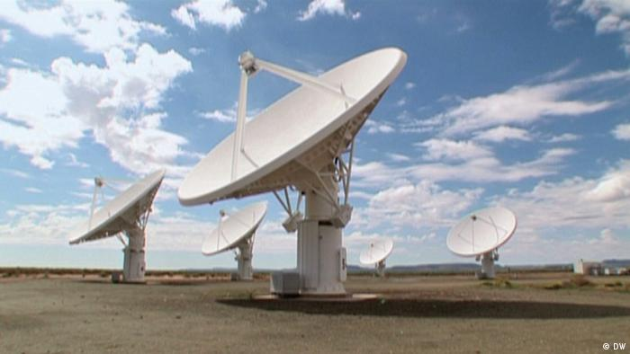 The Square Kilometre Array radio telescope in South Africa