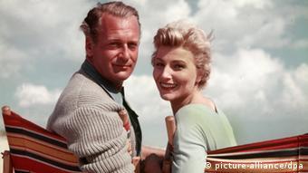 Winnie Markus und Curd Jürgens in den 50er Jahren (Foto: picture-alliance/dpa)