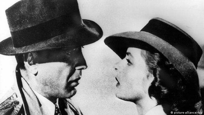 Casablanca: Schau mir in die Augen Kleines, Humphrey Bogart und Ingrid Bergman