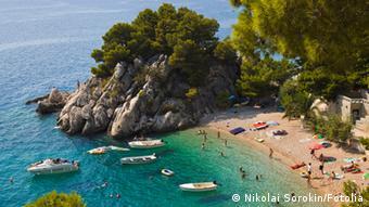 Κροατικές ακτές στην Μπρέλα