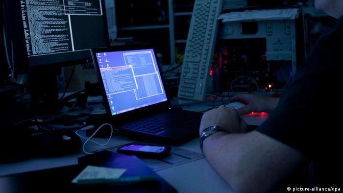Хакерські атаки - символічне фото