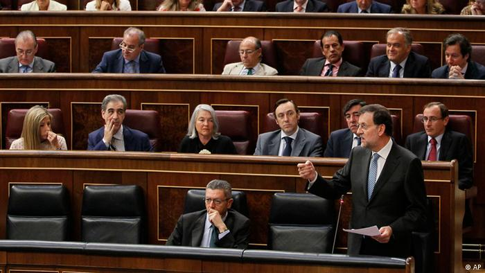 Spanien Premierminister Rajoy