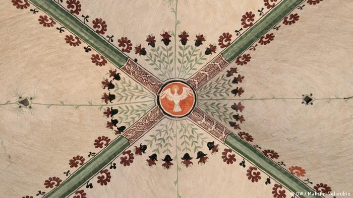 Росписи готического свода