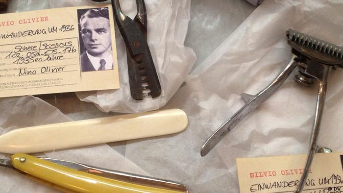 Um nicht zu verhungern, musste der italienische Eismacher Silvio Olivier manchmal auch Haare schneiden