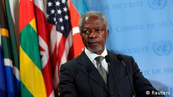 Kofi Annan PK in New York ARCHIVBILD