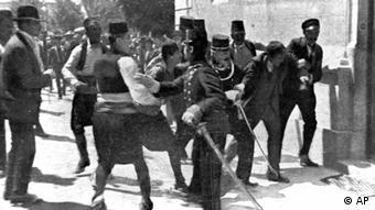 Policija odvodi Gavrila Principa nakon atentata (28.6.1914.)