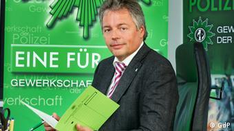 Bernhard Witthaut, Bundesvorsitzender der Gewerkschaft der Polizei (GdP) (Foto: GdP)