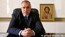 Bulgarien Ministerpräsident Bojko Borissow