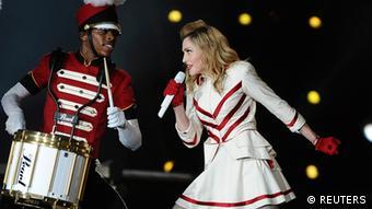 Madonna concert in Abu Dhabi (Photo: REUTERS/Ben Job)