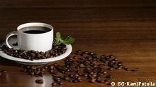coffee on table © GG-Raw #27640963