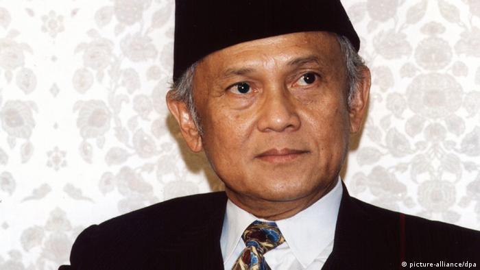 Indonesien Präsident Jusuf Habibie Ehemaliger (picture-alliance/dpa)