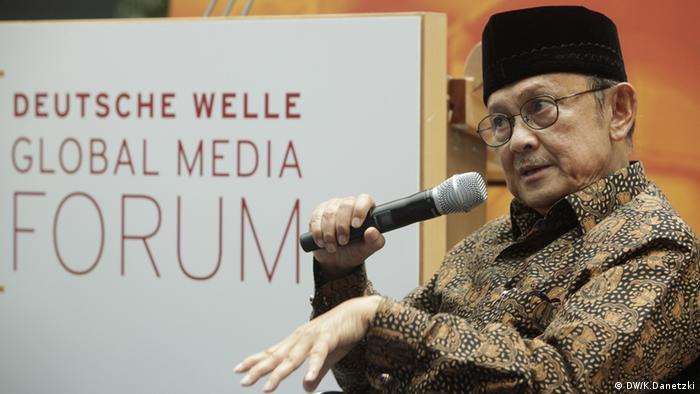 Jusuf Habibie Global Media Forum 2012 (DW/K.Danetzki)