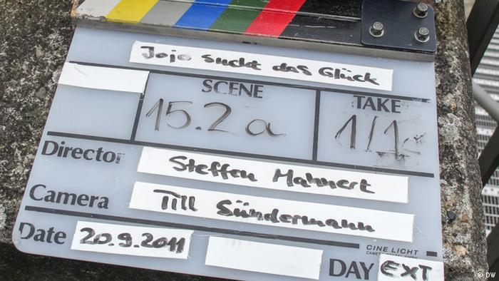 Die Filmklappe