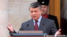 Jordanien König Abdullah II Amman Verfassung Flash-Galerie