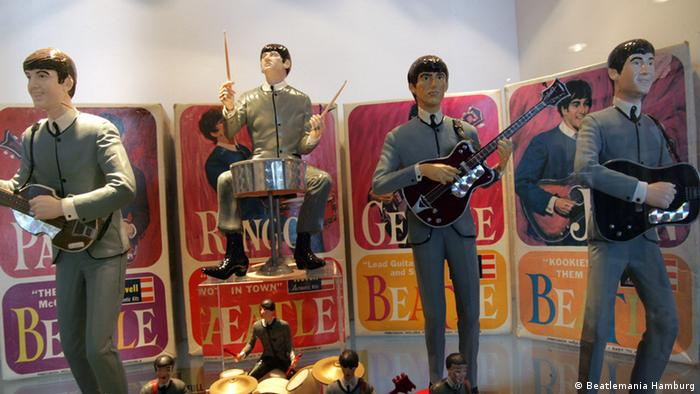 Фигурки музыкантов The Beatles