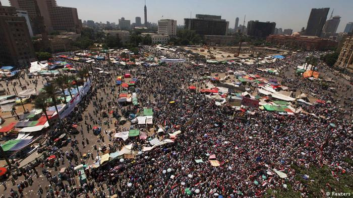 A general view of Tahrir Square REUTERS/Amr Abdallah Dalsh