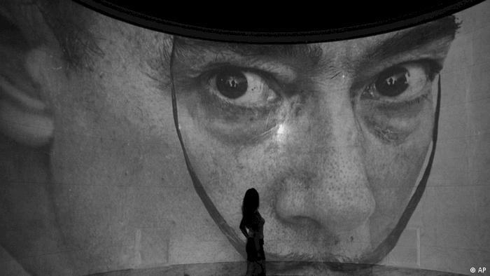 A visitor looks at part of the Salvador Dali in Moscow exhibition at the Pushkin Art Museum in Moscow, Russia, Friday, Sept. 2, 2011. (ddp images/AP Photo/Misha Japaridze)