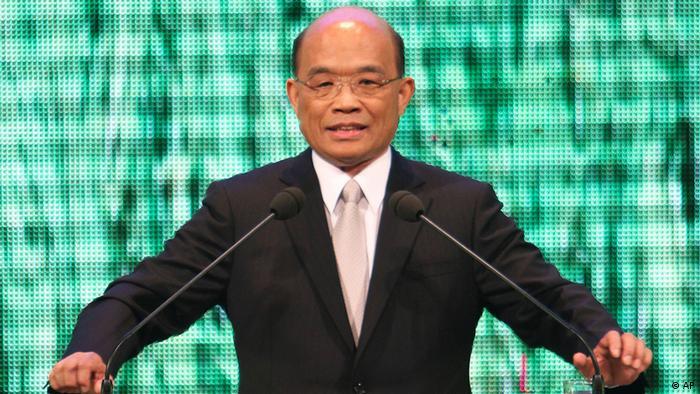 Su Tseng-Chang Vorsitzender von Taiwans Democratic Progressive Party