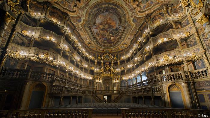 Margravial Opera House in Bayreuth