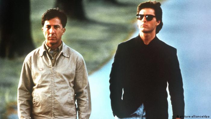 Dustin Hoffman and Tom Cruise in 'Rain Man' (picture-alliance/dpa)
