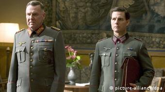 RELEASE DATE: December 25, 2008. MOVIE TITLE: Valkyrie STUDIO: MGM. PLOT: Based on actual events, a plot to assassinate Hitler is unfurled during the height of WWII. PICTURED: TOM CRUISE stars as Colonel Claus von Stauffenberg and TOM WILKINSON as Friedrich Fromm +++(c) dpa - Report+++