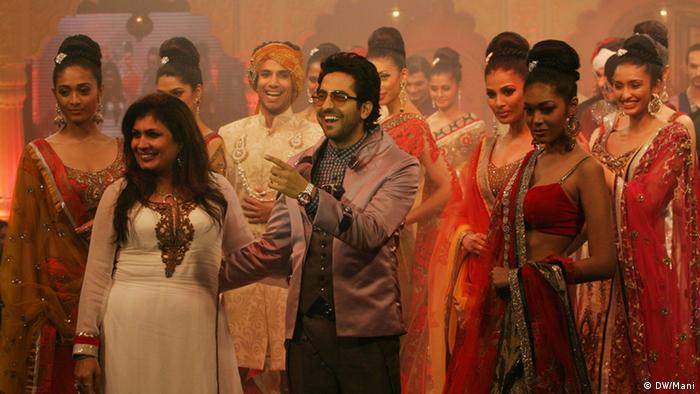 Indien Kolkata Modeshow (DW/Mani)