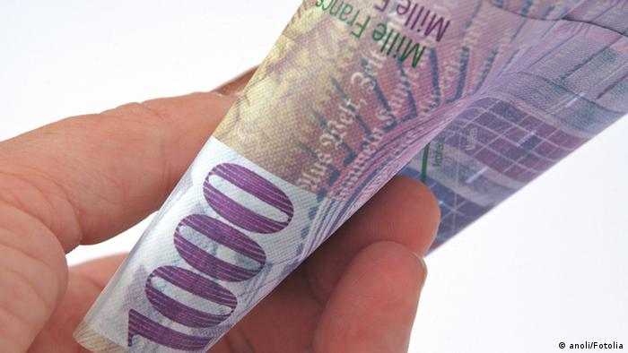 1000 Schweizer Franken