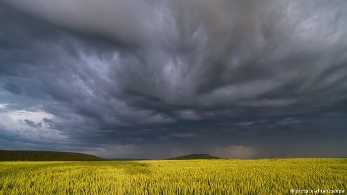Unwetterwolken (Foto: Bernd März /lsn)
