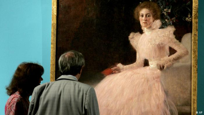 Gustav Klimts Gemälde Sonja Knips (AP)