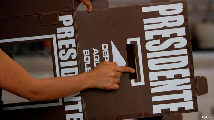 En las elecciones mexicanas no hay segunda vuelta